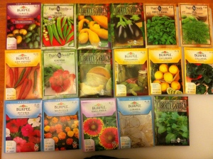 seeds for the planting